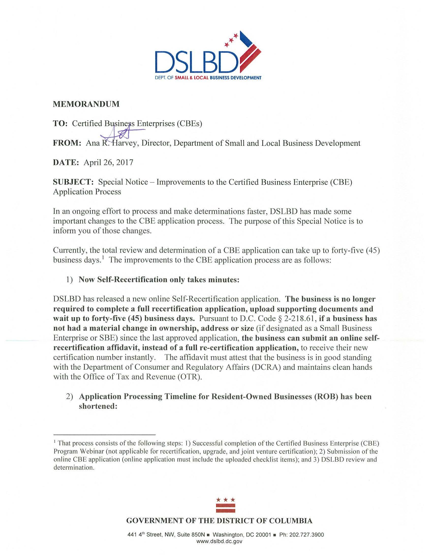 Announcements l s caldwell associates inc cbe application process special notice 426page1 xflitez Images