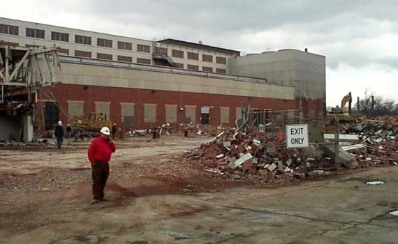 Southeast Federal Center Under Construction